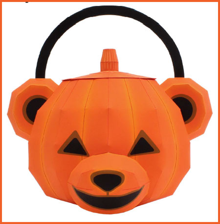 Halloween 2012 Teddy Bear Bag Papercraft