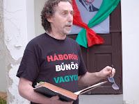 Papp Sándor, a szervező Pro Kalondiensies polgári társulás elnöke.JPG