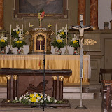 Zasvěcení nového oltáře a žehnání ambonu na Vavřinečku