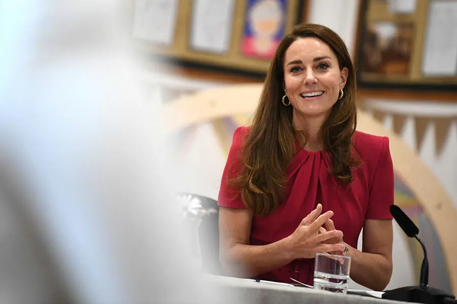 Kate Middleton Asked About Lilibet Diana During Outing with Jill Biden