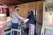 Bhabinkamtibmas Polsek Marioriawa Pantau Penyaluran BPNT PKH di Kelurahan Attang Salo