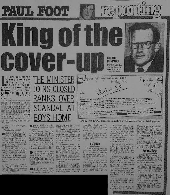 News Spike Harold Wilson And The Ira Clockwork Orange And The