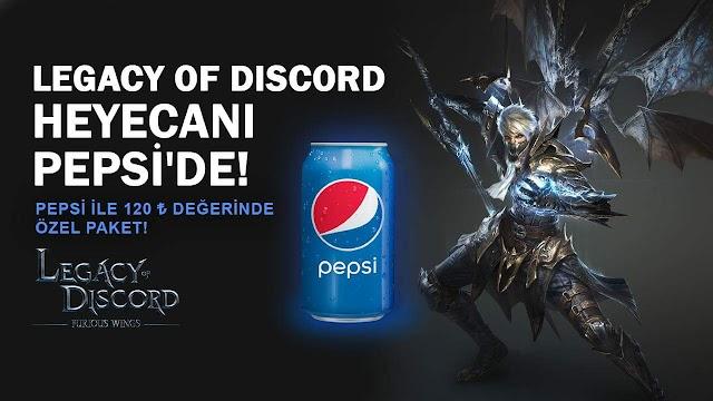 Legacy of Discord Pepsi Kodları