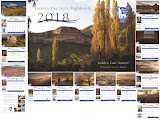 2018 Eastern Freestate Calendar