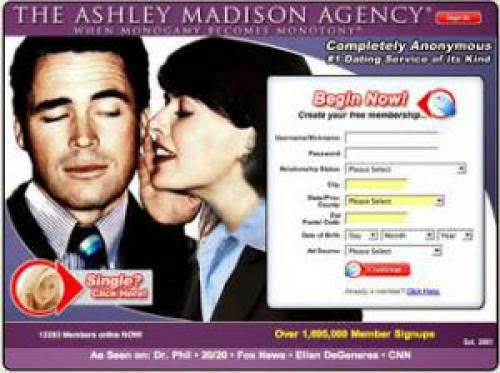 Ashley Madison Agency Forget Love We Should All Have A Affair