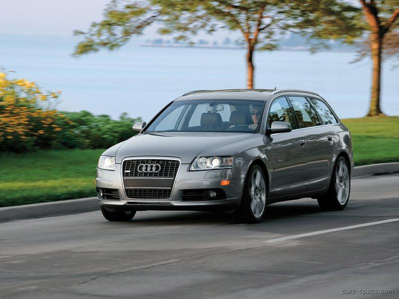 2008 audi a6 wagon specifications pictures prices. Black Bedroom Furniture Sets. Home Design Ideas