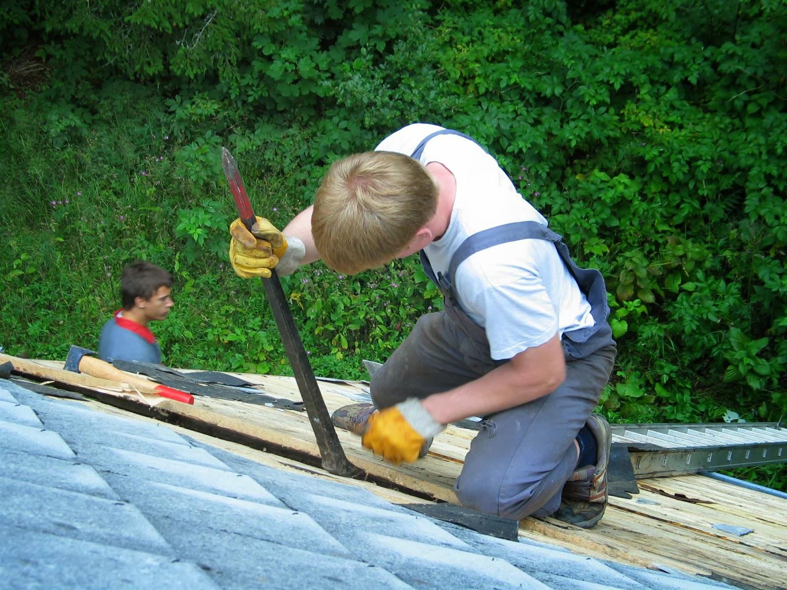 Delovna akcija - Streha, Črni dol 2006 - streha%2B032.jpg