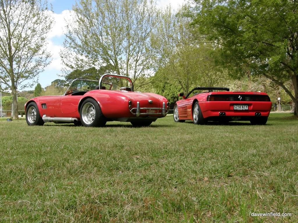 1100Cobra and F348 - Left Rear