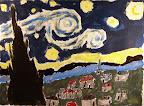 Tribute to Van Gogh by Elizabeth