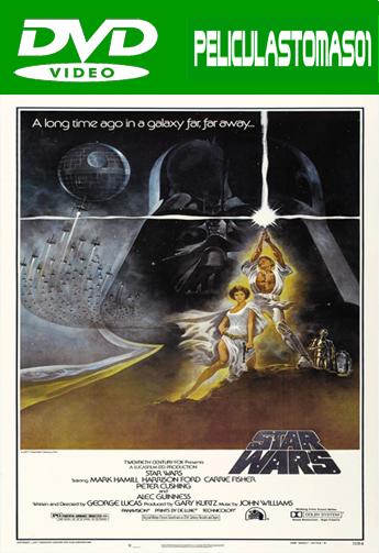 Star Wars. Episodio 4: Una nueva esperanza (1977) DVDRip