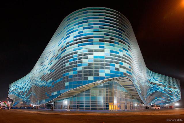 Iceberg Skating Palace, Sochi, Russia