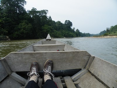 ボートでグアテリンガまで