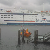 18 September 2011 - the ILB departs the Haven steps to return to station