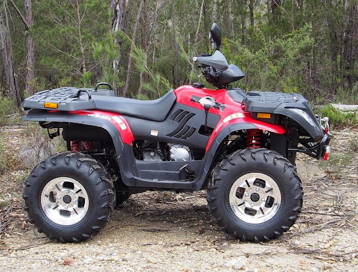 400cc 4x4 Linhai Yamaha Farm Quad Bike ATV Red