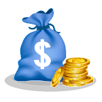 Make Money Earn reward Icon