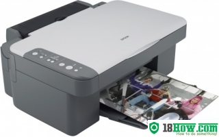 How to Reset Epson DX3800 flashing lights problem