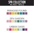 Spa Ink Pads & Refill Bundle