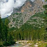 Долина реки Lago di Fanes