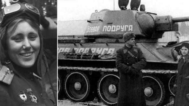 Suami Gugur saat Berperang, Sang Istri Marah dan Membeli Tank untuk melakukan Serangan Balas Dendam