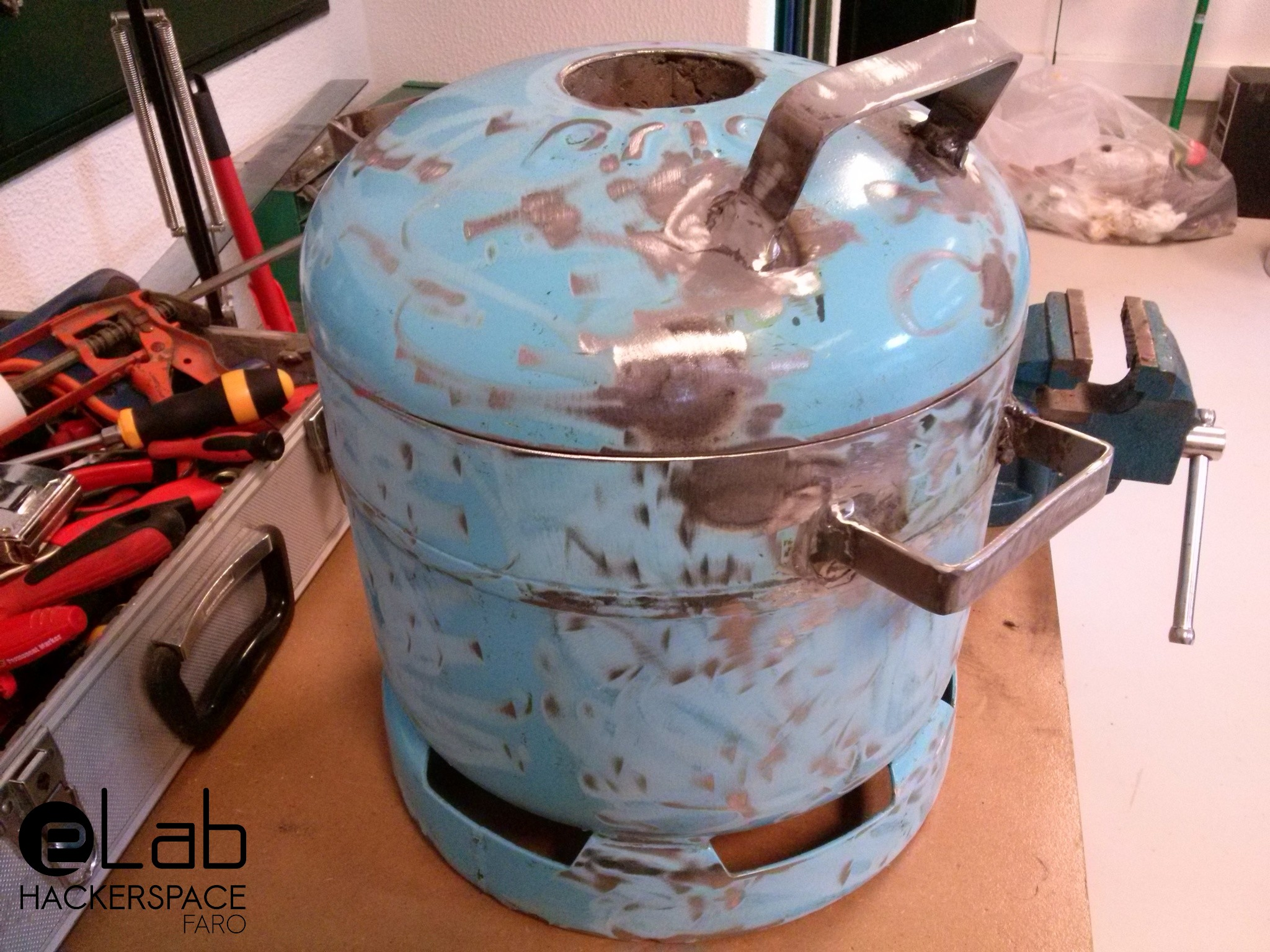 DIY Metal Melting Furnace – eLab | hackerspace