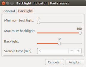 Ajustar automáticamente la iluminación de la pantalla - configuracion