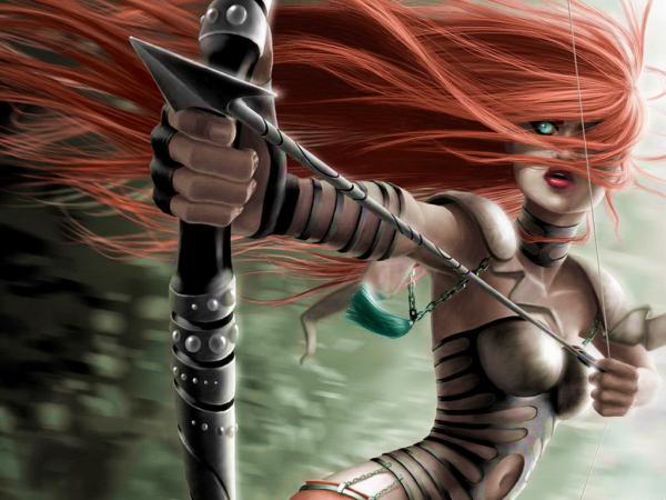 Magic Archer Girl, Warriors