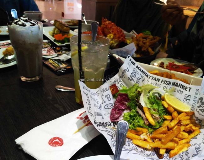gambar makanan di manhattan