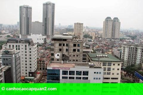 """Hình 1: Hà Nội: Ế ẩm, cao ốc nội đô hạ giá để """"vợt"""" khách"""