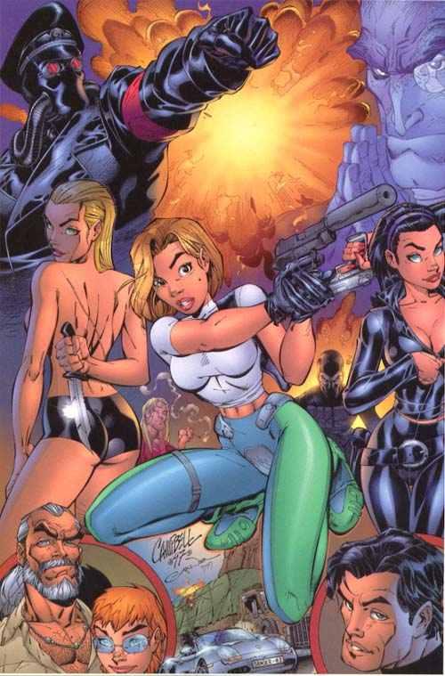Danger Girls 01, Warrior Girls 2