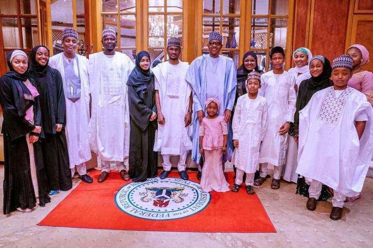 President Buhari and his family