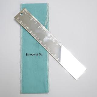 Tiffany & Co. Silverplate Ruler