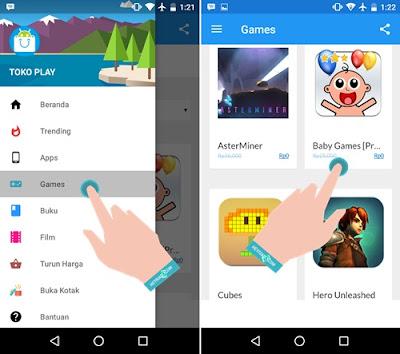 Begini Cara Download Game Berbayar Makara Gratis di Google Play Dengan Aman BERHASIL, Cara Download Game Berbayar Gratis di Google Play