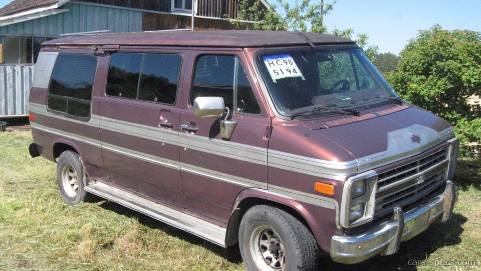 1990 Chevrolet Chevy Van Specifications  Pictures  Prices