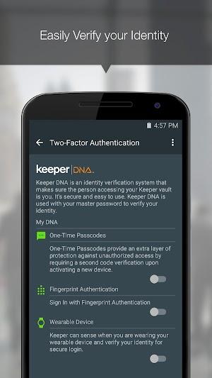20 Keeper® Password Manager App screenshot