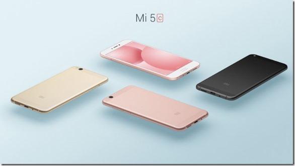 Xiaomi Mi 5C Bertenaga Surge S1 Octa Core Diperkenalkan