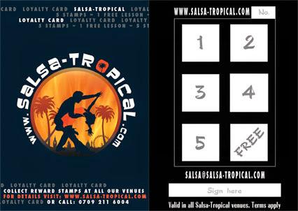 Salsa-tropical Loyalty Card Image