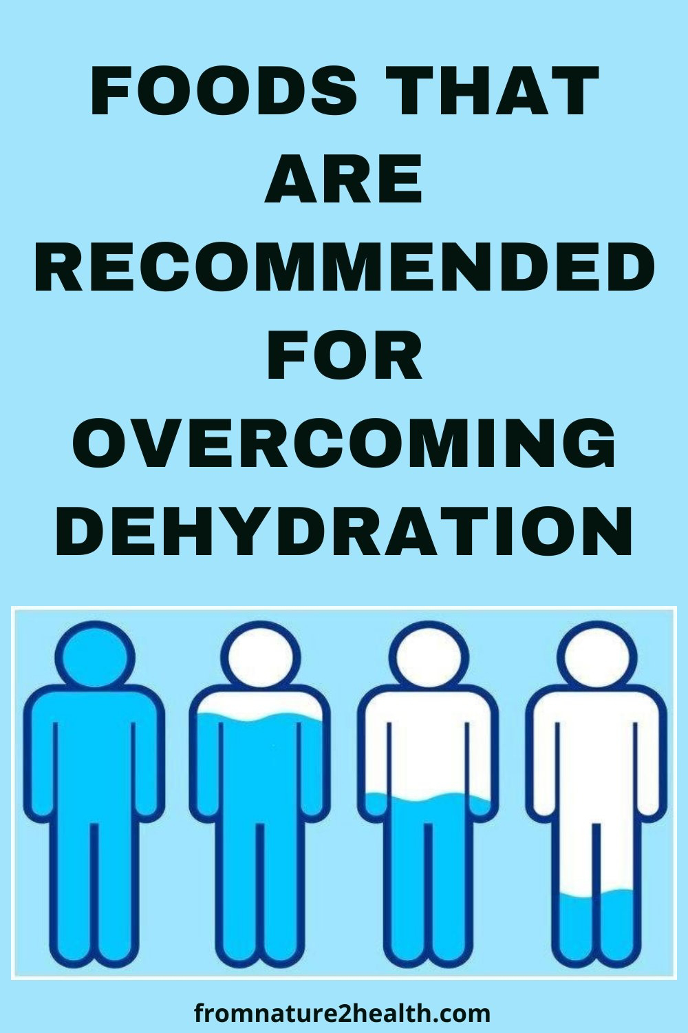 Foods That Are Recommended for Overcoming Dehydration