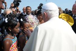 Pope signs 'Africae munus' exhortation while in Benin