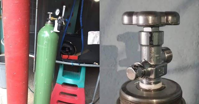 Venden tanques de oxígeno hasta en 35 mil pesos en Tlaxcala