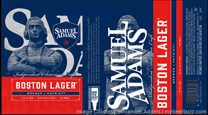 Samuel Adams Independent Craft Seal Cans