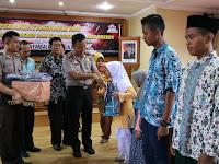 Dorong GKB, Polres Brebes Angkat 28 Anak Asuh