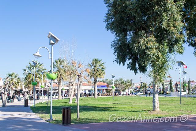 güneş enerjili aydınlatmalı geniş parklar, Sığacık Seferihisar