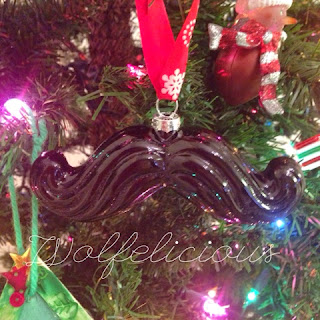 photo of mustache christmas wolfelicious