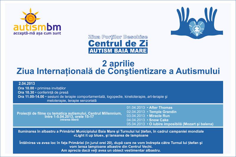 2 aprilie - Ziua internationala de constientizare a autismului