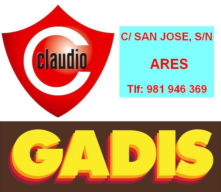 Logo Supermercado Claudio (Ares) e Gadis.