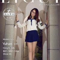 LiGui 2014.11.23 网络丽人 Model 语寒 [40P] cover.jpg