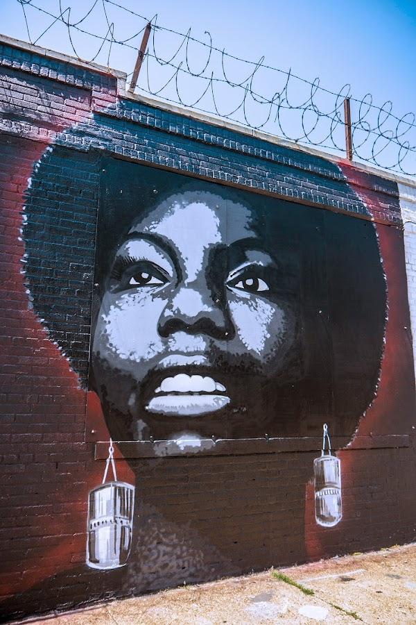 Damian Mitchell street art