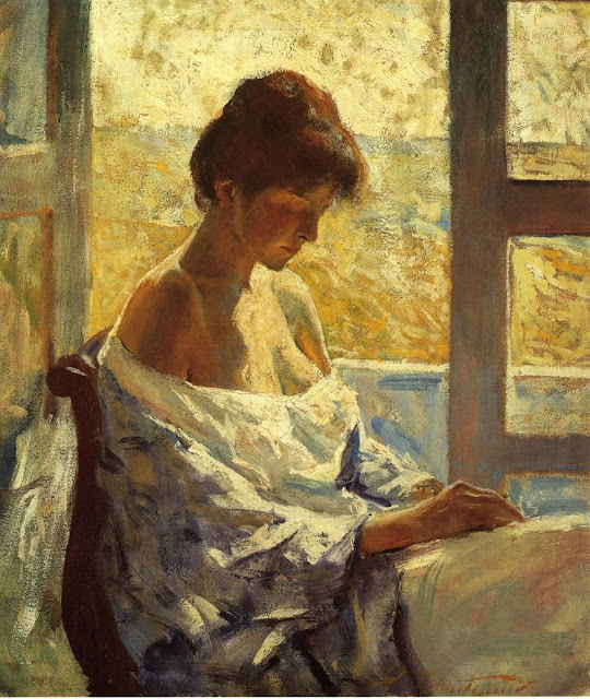 Charles Webster Hawthorne - By the Window