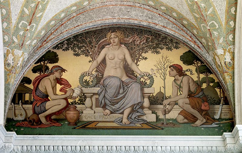 Elihu Vedder - Peace and Prosperity