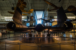 SR-71 Blackbird at the Udvar-Hazy National AIr and Space Museum